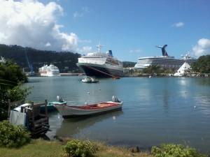The saga sapphire 2012 in St Lucia