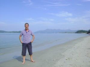 On the beach in Malaysia was truly paradise!