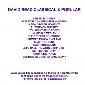 david performs inside page 2014...